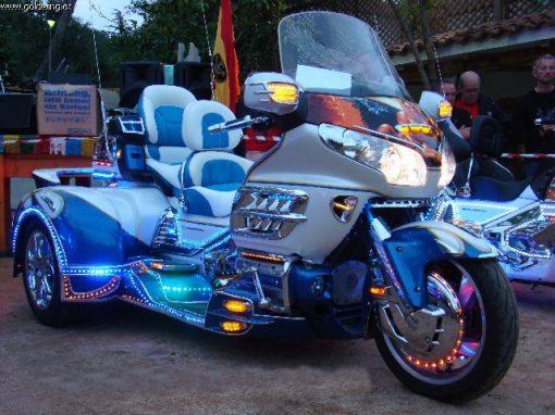 Tapizado asiento de moto GOLDWING