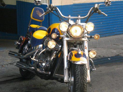 Tapizado asiento de moto CHOPPER