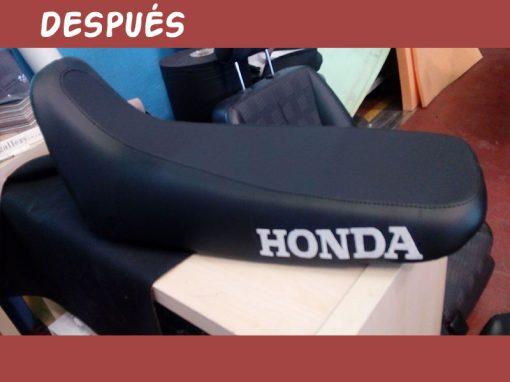 Tapizado asiento de moto HONDa