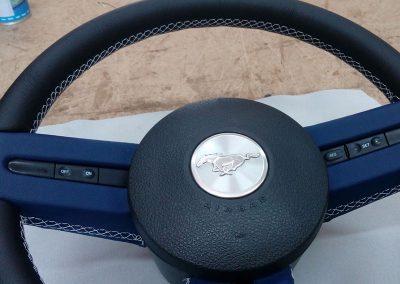 tapizado-volante-mustang-madrid